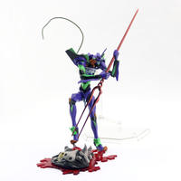 Evangelion EVA first body model with metal Langinus red fork can be done