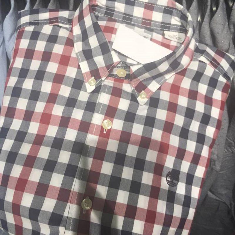 Timberland 添柏岚 男 棉质长袖休闲衬衫A1MMM A1MN7 A1MN8 A1MNU