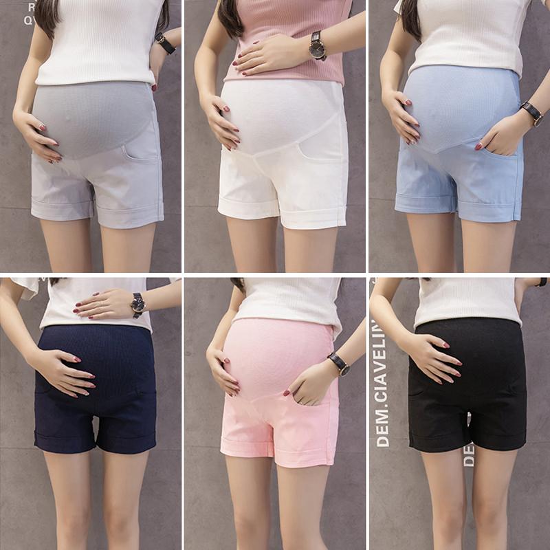 弹力孕妇裤子
