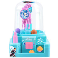 Disney children's mini candy machine toy gashapon machine grabs the music household small clip doll machine to catch the doll machine