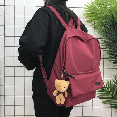 小熊双肩包小