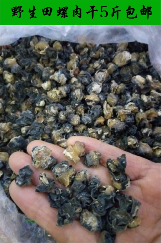 野生石螺肉干 田螺肉干 干捞螺蛳粉专用浓香干石螺肉5斤包邮