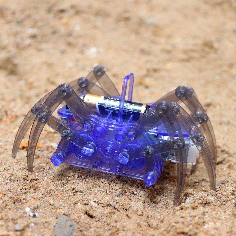 科技小制作小发明蜘蛛机器人手工材diy学生stem科学实验玩具整套