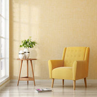 Plain linen wall covering modern minimalist seamless solid color living room thickening wallpaper bedroom high-grade fresh environmental protection wall covering