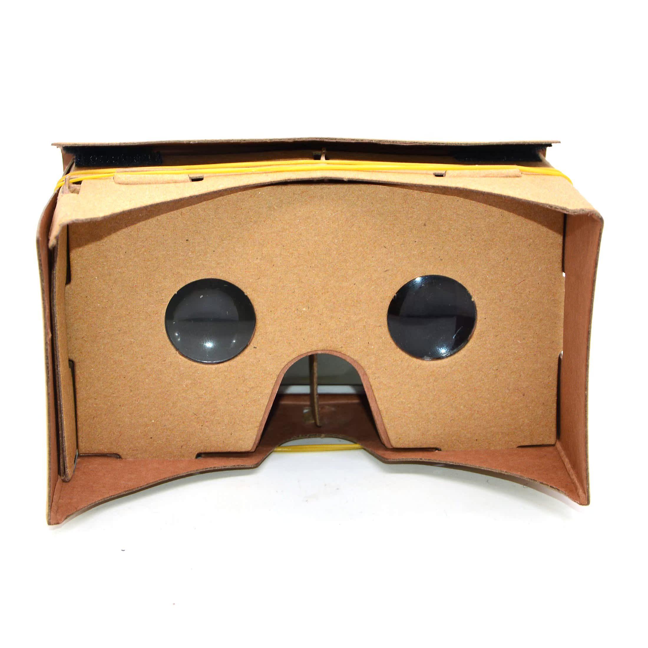 VR虚拟现实眼镜 科技小制作diy手工材料创意发明学原理