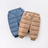 Davebella David Bella Boys Winter Warm Down Pants Boys Thickened Pants DB3283