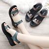 女鞋坡跟夏季