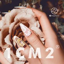 1CM2美甲饰品定制施华洛世奇水晶砂饰真金电镀LZ高端定制正品