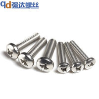 M1.0M1.2M1.4M1.6 304 stainless steel Phillips head screw round head screw screw 818