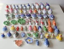 特惠景德镇陶瓷小摆件 鱼缸玩物 水浅小鱼 水中可漂浮装饰物集合