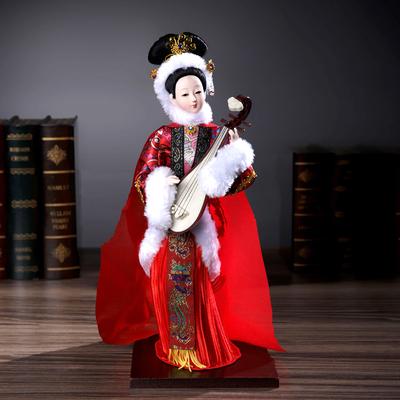 北京绢人中国风家居装饰品摆件民族风特色手工艺品四大美女王昭君