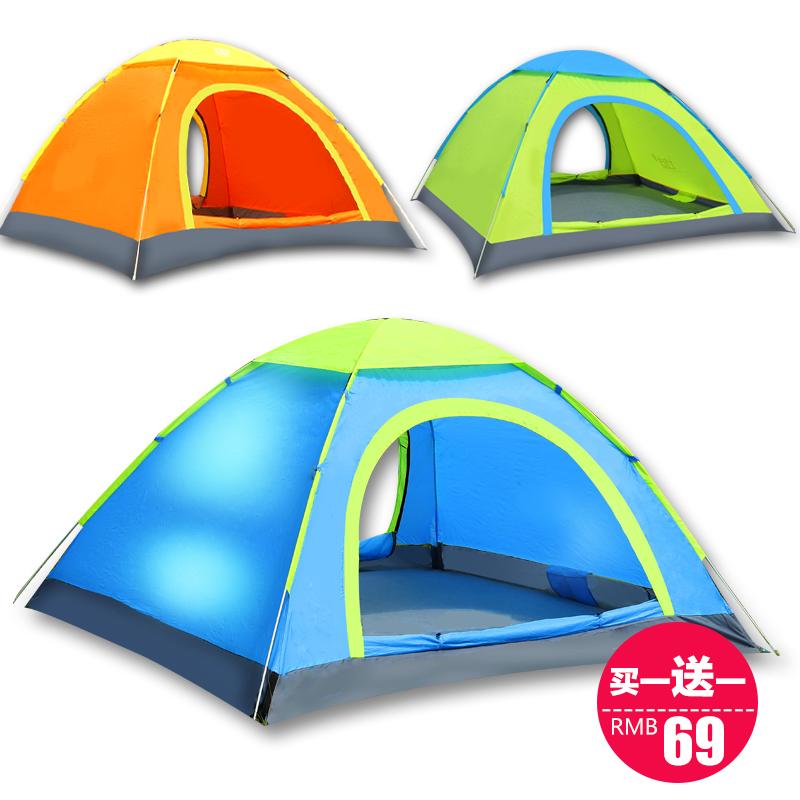 家庭多人帐篷