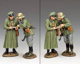 Purchasing soldier MG073 compare notes king country soldier model ornaments military hand