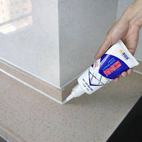 Buy 2 get 1 free toilet base stickers Toilets around the anti-fouling gap stickers skirting corners gap waterproof and mildew