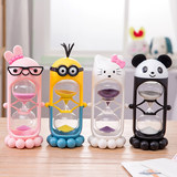 Hourglass timer Child time brushing 3/15/30 minute cartoon creative widgets learn birthday gifts