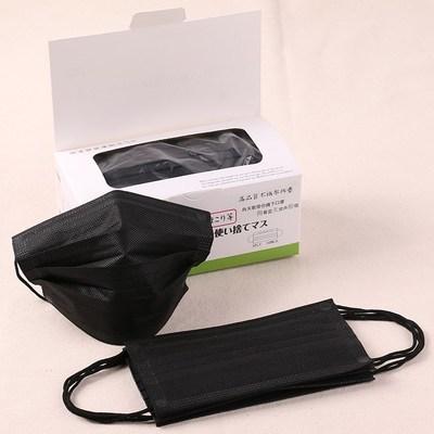 潮透气黑色一次性冬季造款加厚防尘罩可爱口罩防男女防尘病菌口