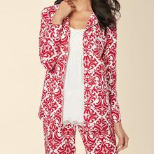 莫代儿长袖 月子服 薄款 两件套装 大码 家居服纯棉新款 睡衣女夏季短袖