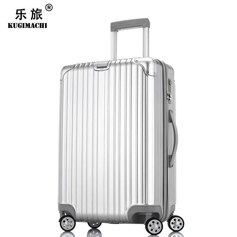 乐旅商务行李箱万向轮男旅行箱拉杆箱女密码箱硬箱子皮箱20/24寸