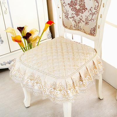 高档奢华欧式餐椅垫套装坐垫四季凳垫布艺家用座垫防滑餐桌椅子垫