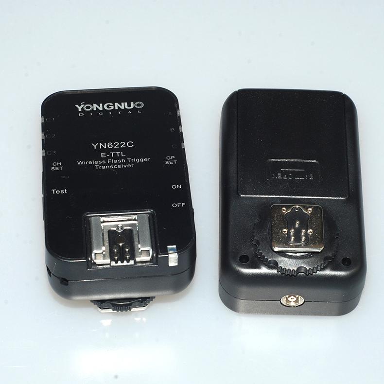永诺无线引闪器YN622C KIT 自动手动TTL高速同步液晶显示触发器