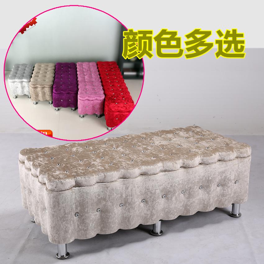 店铺试鞋凳 服装装修展台 多人座椅实木布艺时尚造型沙发椅子靠椅