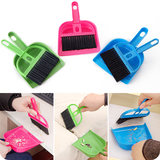 Desktop cleaning small broom 簸箕 set keyboard cleaning brush broom combination mini garbage shovel tool