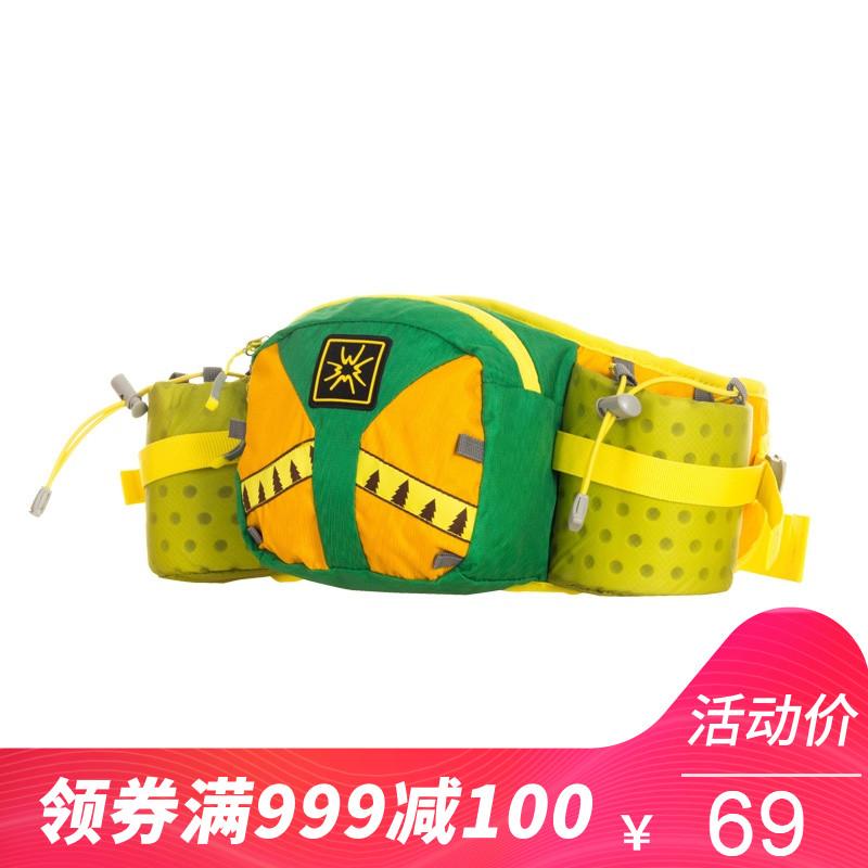 SAMSTRONG/杉木山装狮跑户外透气休闲多用途水壶跑步腰包B0196