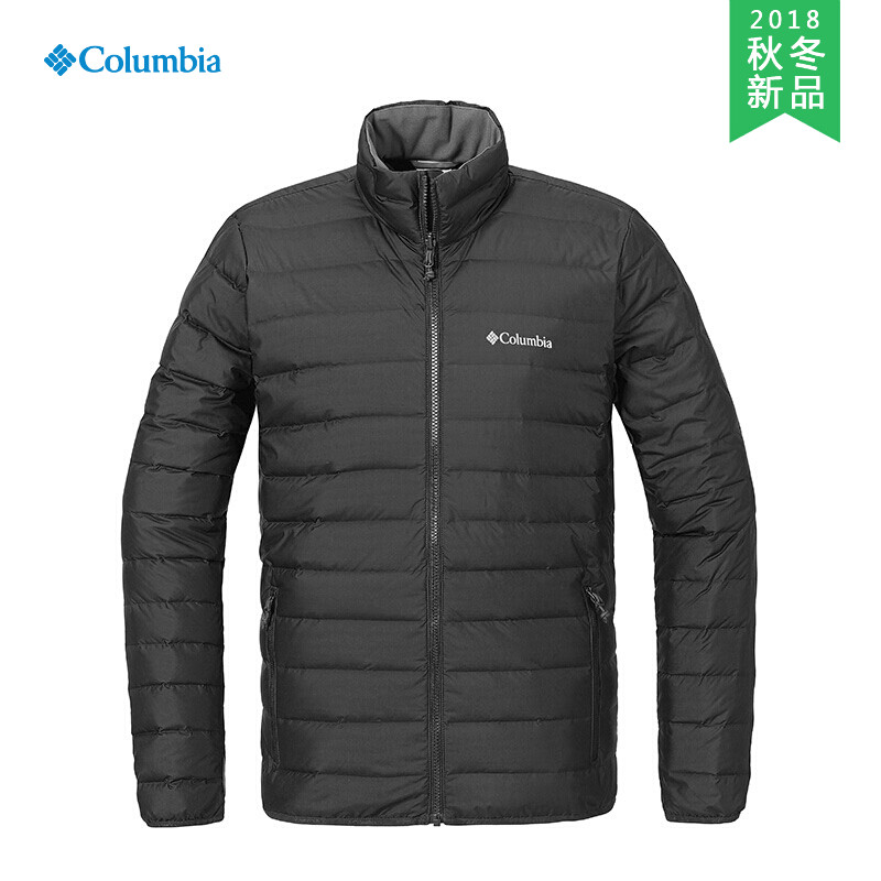 18秋冬新品Columbia/哥伦比亚户外男女款防泼水650蓬羽绒服PM5567