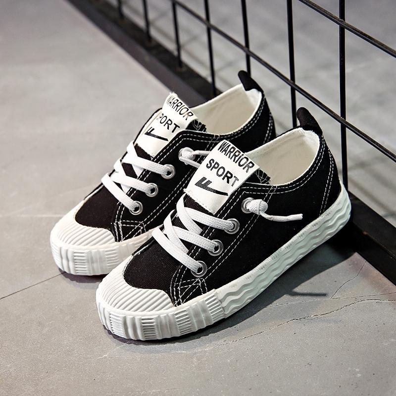 2019春新款回力童鞋儿童帆布鞋男童运动鞋板鞋女童布鞋韩版休闲鞋