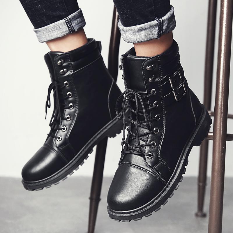 冬季全皮鞋靴