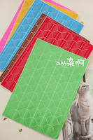 Buy 3 get 1 photo album fixed Stationery photo corner stickers angle color corner stickers 102 pieces