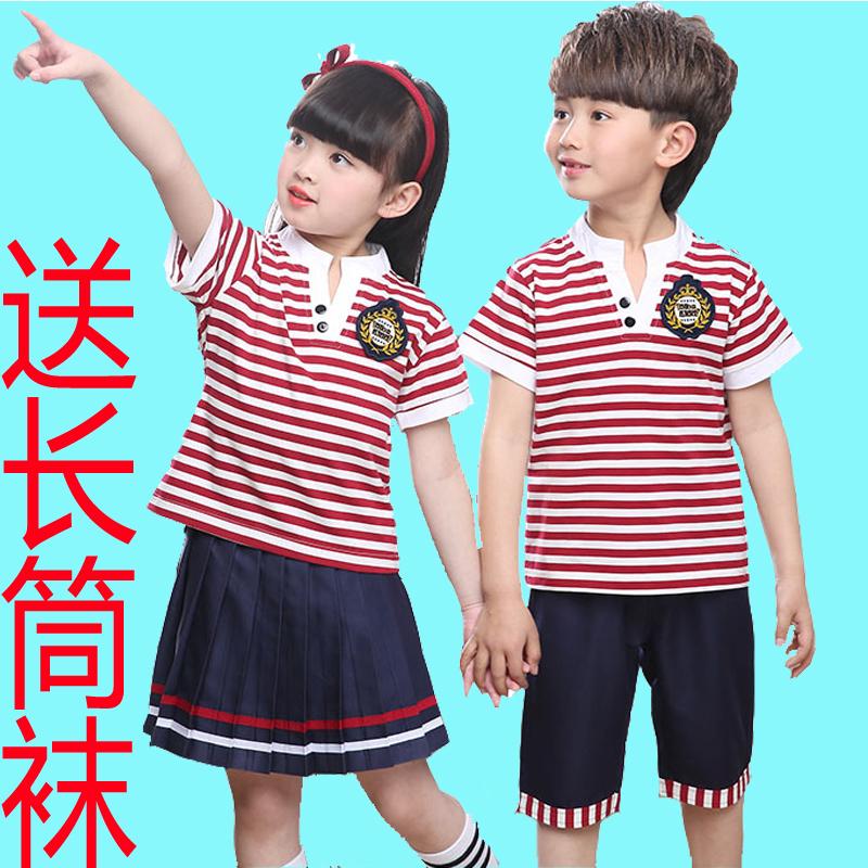 女童夏季校服裙子