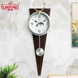 Lisheng light luxury clock living room silent clock modern minimalist personality Nordic home creative decoration quartz clock