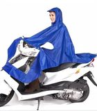 Electric motorcycle single double mother and son Oxford cloth poncho men and women thickened waterproof to increase adult students raincoat