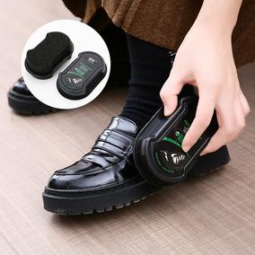 一擦即亮双面海绵鞋蜡 无色亮鞋护鞋蜡上光皮革护理油海绵皮鞋擦