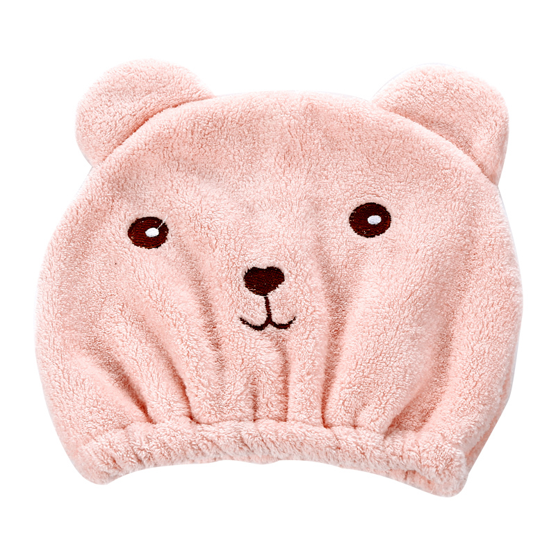 卡通干发帽女吸水干发巾擦头发速干毛巾包头巾可爱洗头浴帽长发