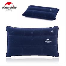 NH挪客充气枕户外休闲露营午睡旅行枕植绒充气枕头旅游便携枕