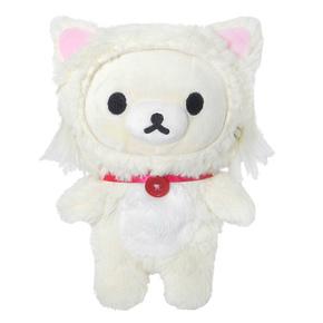 日本代购毛绒玩具玩偶 女生儿童生日礼物 白色可爱小熊布偶