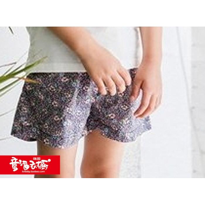 特韩国进口童装儿童裤子2018夏装Jennybloom男女童休闲短裤61215