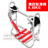 Steel winch slide chair communication scooter telecommunications construction slide high-altitude safety slide chair fiber optic cable communication trailer