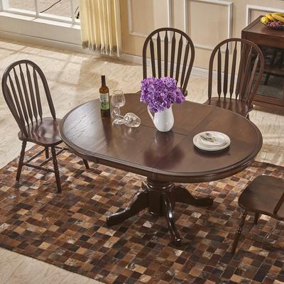 美式餐桌椅组合4人性价比高吗