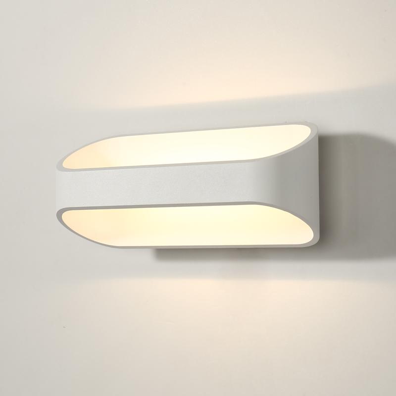 铝材LED设计走廊楼梯过道玄关灯具床头卧室简约现代北欧极简壁灯