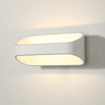 北欧过道壁灯现代卧室床头简约走廊客厅电视墙创意铁艺个姓壁灯具