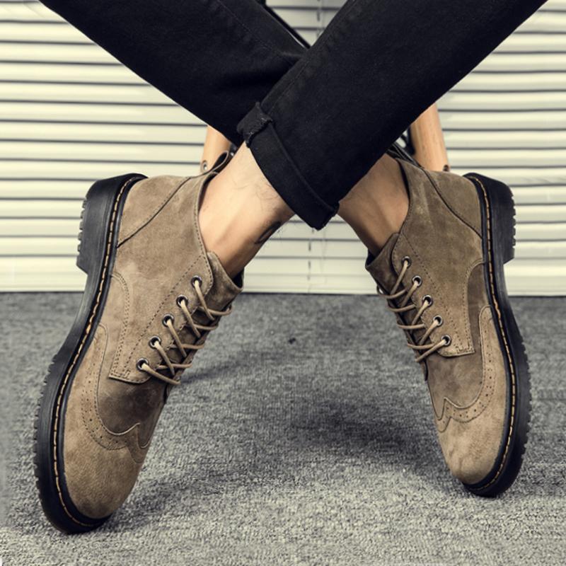 男士春秋靴子
