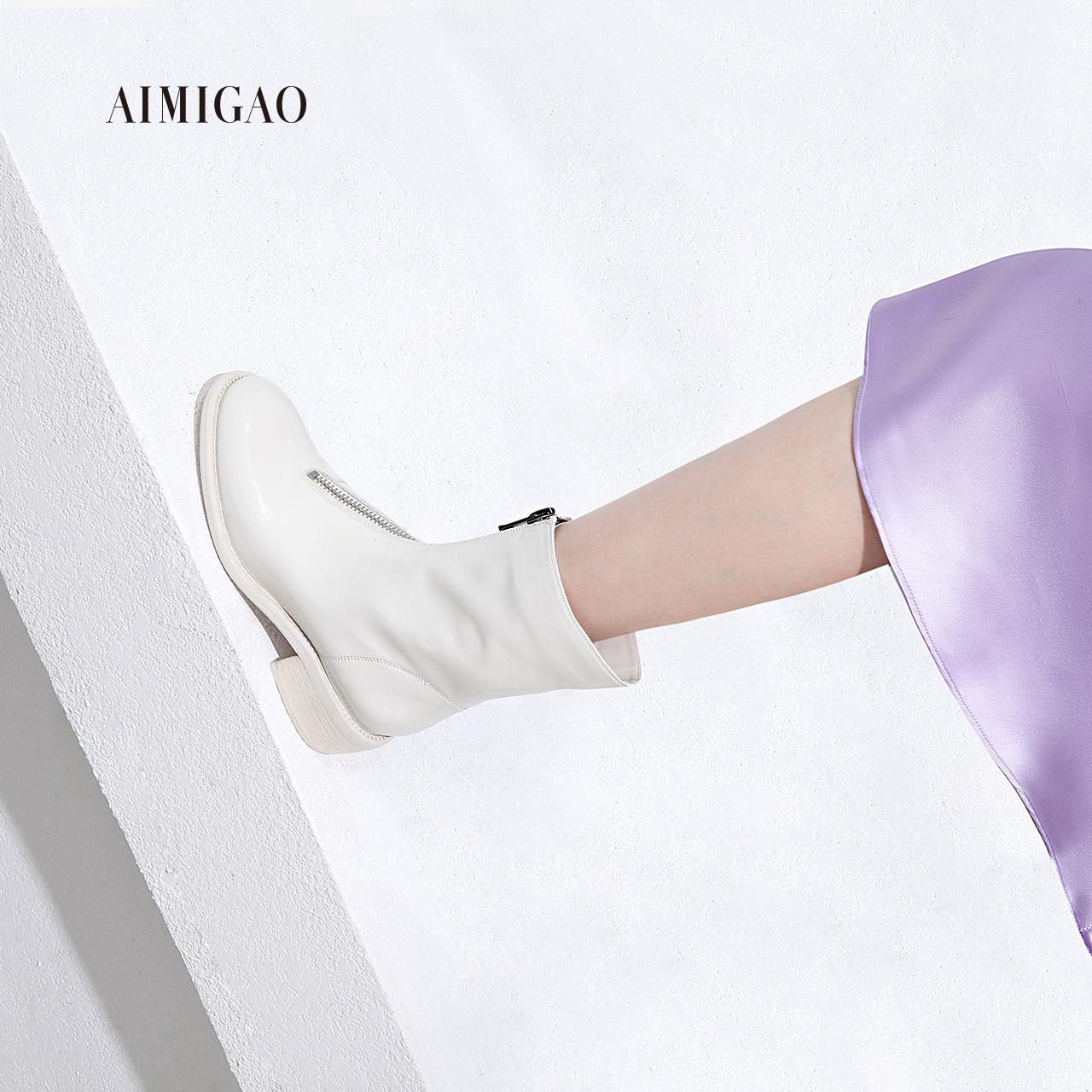 新品中筒靴