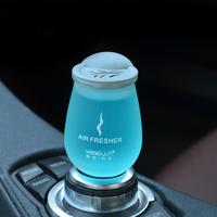 固体香膏车载香水出风口香薰汽车内饰品摆件装饰空气清新剂车用品