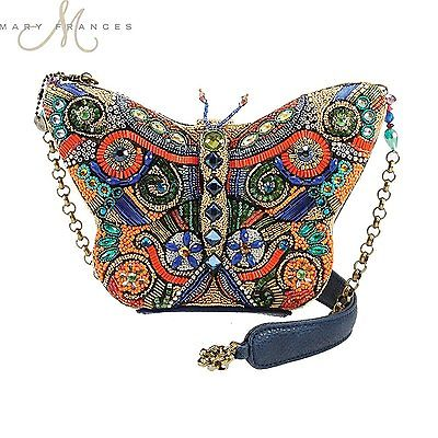 Female bag Mary Frances Personality Fashion Butterfly Art