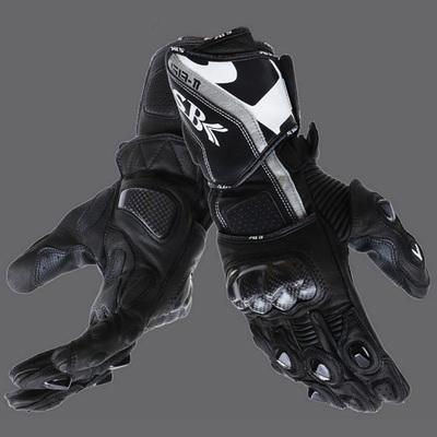 SBK机车手套摩托车赛车防摔防滑手套 四季碳纤维越野防摔长款手套