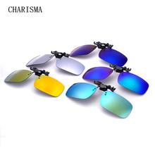 炫彩夹片时尚男女同款近视墨镜防紫外线太阳镜夹片式开车驾驶镜