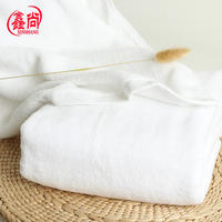 220 grams of high quality cotton small bath towel 50x100cm travel portable large towel custom soft absorbent white towel